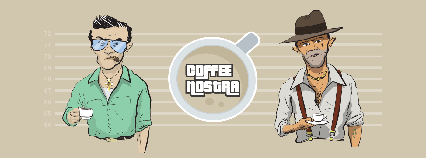 Geo-location social gangster game for all coffee lovers.